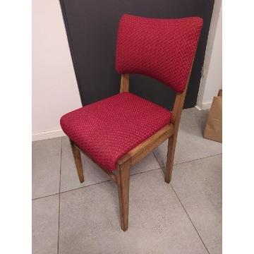 Komplet krzeseł z PRL