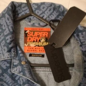 Katana kurtka jeans  SUPERDRY PREMIUM roz M NOWA