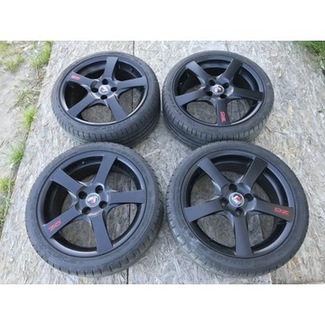 Felgi OZ '17 4x100 z oponami Dunlop Sport Maxx RT