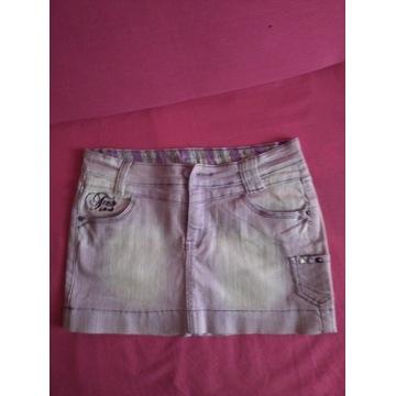 Spódniczka dżinsowa krótka M