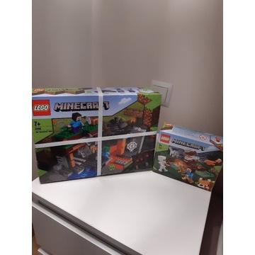 Lego minecraft 21166 i lego minecraft 21162