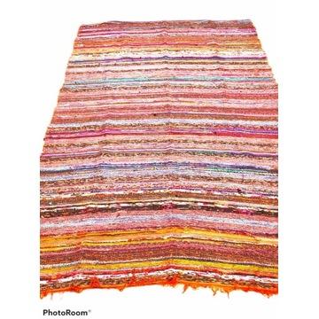 Dywan bawełniany Indyjskie 145x210 cm wielokolorow