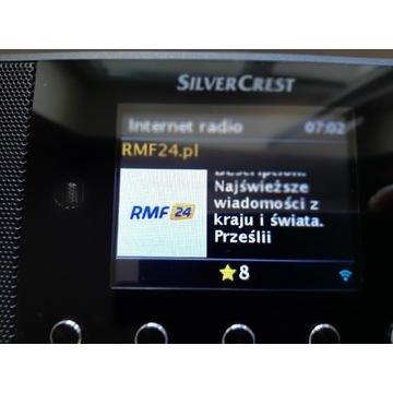 Radio Silvercrest internet, Spotify,dab+.,fm z fds
