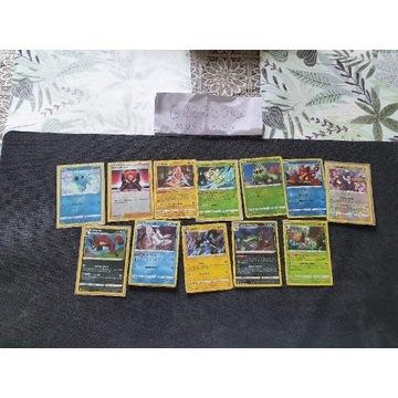 Pokemon TCG: KOLEKCJA KART POKEMON 84szt. , BCM