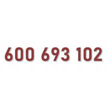 600 693 102 T-Mobile ŁATWY ZŁOTY NUMER starter