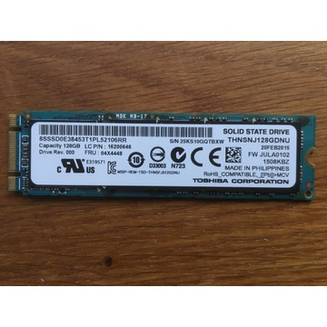 Dysk SSD Toshiba 128Gb SATA M.2