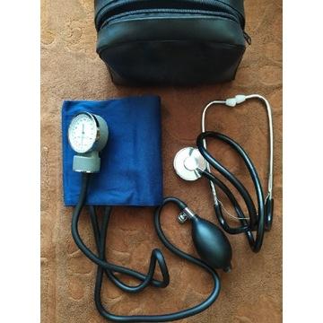 Medyczny precyzyjny ciśnieniomierz ze stetoskopem