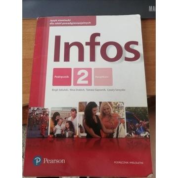 Infos 2 podręcznik Pearson używane