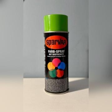 Sparvar lakier w spray'u 400 ML ZIELONY