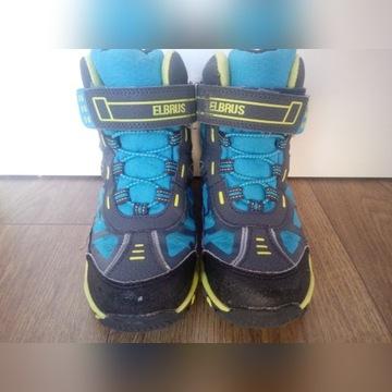 Zimowe buty r. 30