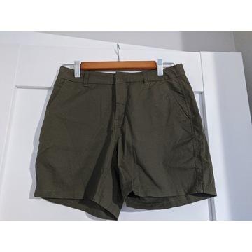Szorty krótkie spodenki khaki zielony Only S nowe