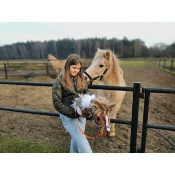 Koń Hobby Horse na kijku - Lusiano