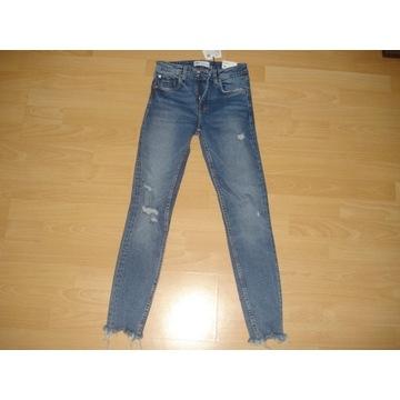 Zara jeansy nowe roz.34