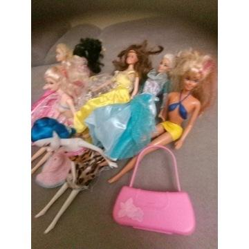 Barbie 7 lalek