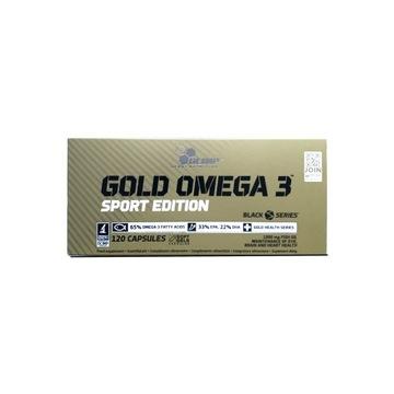 Olimp Gold Omega 3 Sport Edition 119 kaps