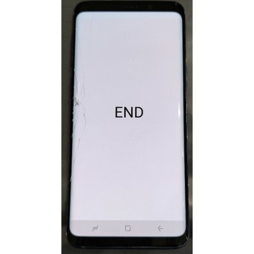 Wyświetlacz Samsung s9 uszkodzony