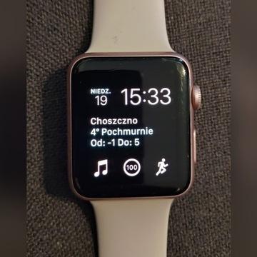 Apple Watch 42mm Gold Rose różowy 7000 series