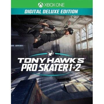 Tony Hawk's Pro Skater 1+2 Edycja Deluxe Xbox One