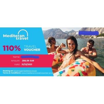 Mediteran Travel Voucher 286 EUR