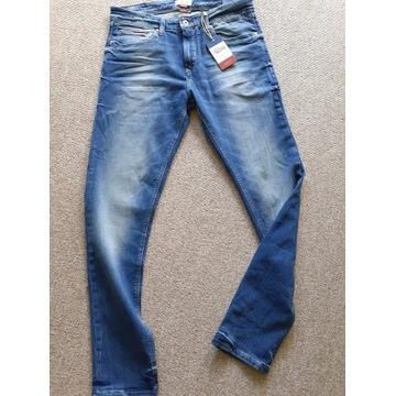 Tommy Hilfiger Slim Tapered Jeans - roz. 32 Nowe!