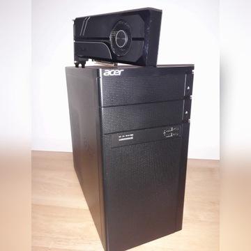 Komputer DELL Intel i7/ASUS GTX 1060/12GB/1TB/WiFi