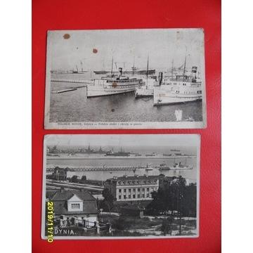 GDYNIA 2 pocztówki port