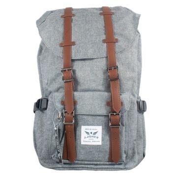 Plecak TREKINGOWY, Stylowy, mocny, Pojemny