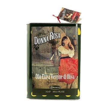Oliwa z oliwek extra virgin Donna Rosa 3lt Sycylia