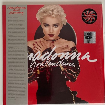 Madonna You Can Dance RSD RED LP