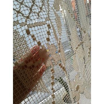Ręcznie robione firany (filierowane)