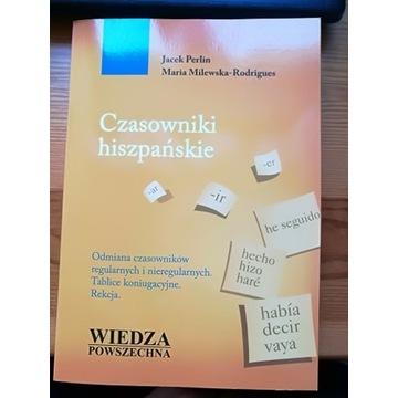 Czasowniki hiszpańskie. Jacek Perlin