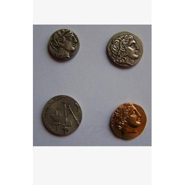 Zestaw monet starożytne Ateny