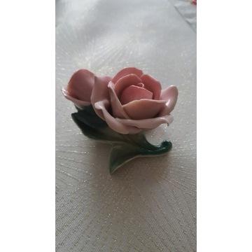 Kwiat róża porcelana Karl Ens