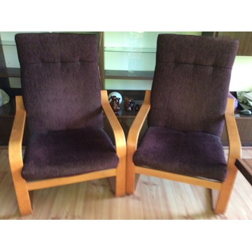 Dwa wygodne ponadczasowe fotele