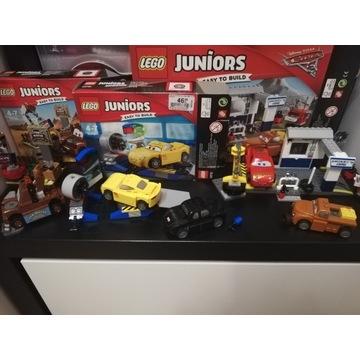 Klocki lego juniors - cars 3 zestawy