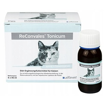 Witaminy dla kota Alfavet ReConvales Tonicum Cat