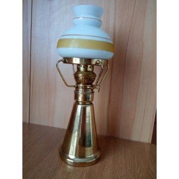Lampa naftowa mosiądz stylowa