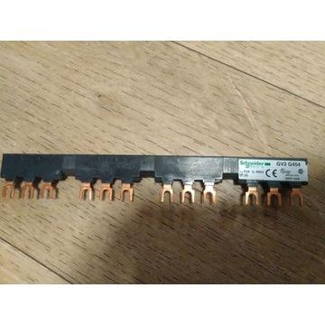 Szyna grzebień Schneider GV2 G454