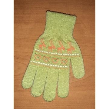Nowe rękawiczki dziecięce 18cm dla dziewczynki  9l