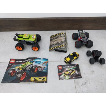 Lego Racers 8165 Monster Jumper + 8148 EZ-Roadste