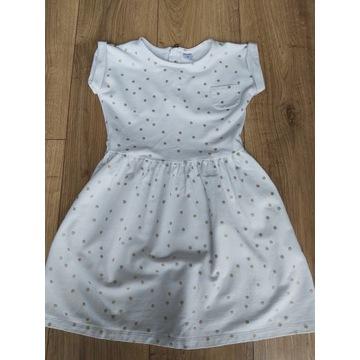 Sukienka carter's 140 ecru