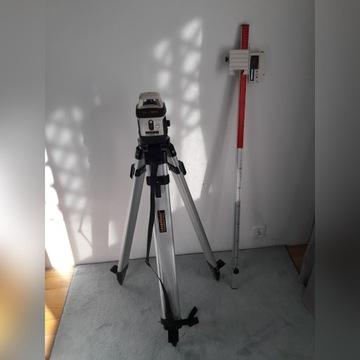 AquaPro 120 Niwelator obrotowy - zestaw okazja!