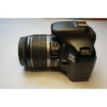 Canon EOS 550D body + obiektyw gratis
