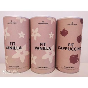 Natural Mojo Promocja 3 Fit vanilia, vanilia, capp