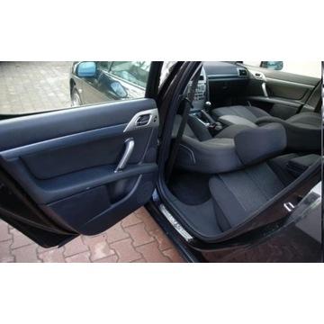 Peugeot 407 tylna kanapa