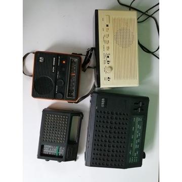 Stare radia retro unikat zestaw