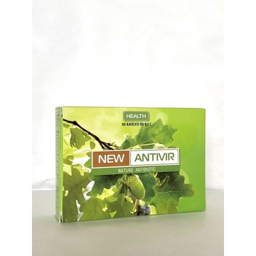 New Antivir 60kaps.Naturalny antybiotyk ,Antywir