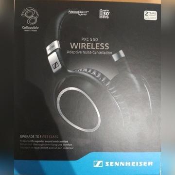 Słuchawki SENNHEISER PXC 550 wireless - NOWE