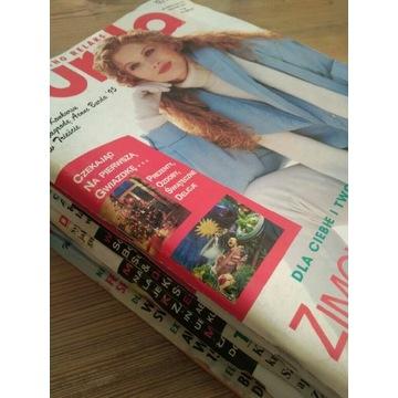 Burda z wykrojami 12szt. cały rocznik 1995