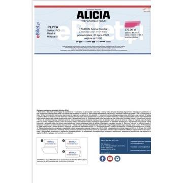 Bilet na Alicie Keys -Kraków czerwiec 2021